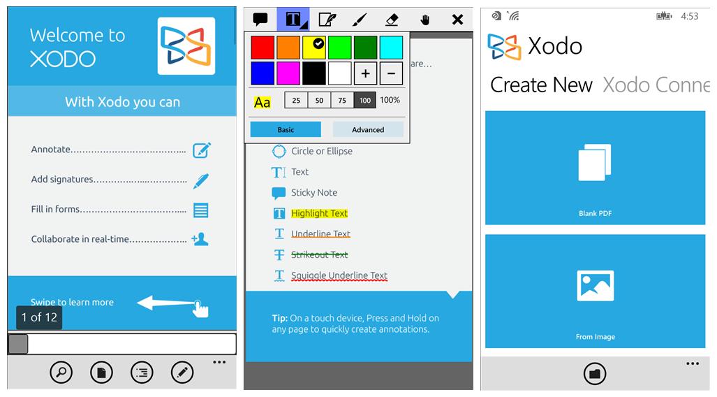 Xodo For Windows Phone Xodo Blog